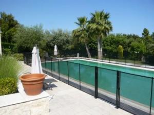 Barrieres filet piscine